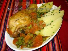 Cucina peruviana in Italia: Seco de pollo -  Pollo in umido con verdure