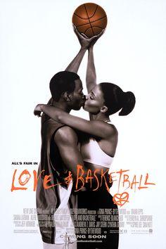 online store c5959 3bfc2 Art Sims    Love   Basketball movie poster Basketskor, Romaner, Svartsjuka,  Nätboll