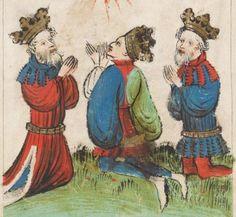 Speculum Humanae Salvationis 1427 Cod. membr. 8  Folio 11v