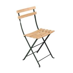 We are the partner for Fermob in New Zealand. Discover the Fermob Bistro Folding Chair - Natural Slats here. Visit the NZ Fermob experts! Wood Folding Chair, Folding Furniture, Furniture Sets, Furniture Design, School Furniture, Metal And Wood Chairs, Outdoor Chairs, Outdoor Furniture, Patio Chairs