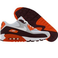 new style 8d7b3 259f9 Nike Air Max 90 (red mahogany   white   natural grey   safety orange)