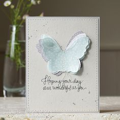 Wonderful You by Lucy Abrams using Simon Says stamp Exclusives. October 2014