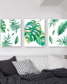 simple healthy dinner recipes for kids ideas christmas decorations Plant Art, Interior Decorating, Interior Design, Art Mural, Wall Art, Tropical Decor, Botanical Prints, My Room, Watercolor Art