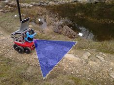 A major challenge in outdoor mobile robotics is the classification of navigable and non-navigable terrain. The variability of the environment, which is caused by different types of trail surfaces, fuzzy road boundaries, and many distinct illumination conditions, pose great difficulties for reliable sensor data interpretation. In addition, autonomous robot navigation at higher velocities requires data interpretation to happen close to or at real-time.