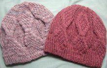 Mock Aran Knitted Mens Hat | AllFreeKnitting.com
