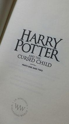 #Harrypotter #Cursedchild #book