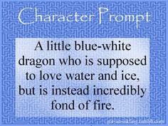 When I read this, I pictured the dragon to be Lucy from fairytail and the fire would be natsu.