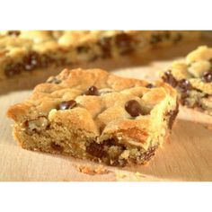I can't say why exactly, but I prefer these bars to cookies. If you haven't tried them, now is the time. And have a tall glass of cold milk handy.
