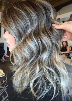 Here we are going to preset the amazing trends of ash blonde hair colors to apply on long hair in 2018. Browse our post for stunning ideas of various hair colors to make you more attractive and cute than ever. Ash blonde and grey hair colors are really awesome choice for all the women who are looking for best hair colors.