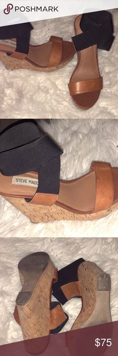 Steve Madden Wedges Pet Free / Smoke Free Great condition Steve Madden Shoes Wedges