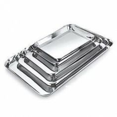 JVL Tray - Trays that are made under the strict purview of our quality auditors. These trays are produced using best grade steel acquired from veritable vendors of the market. Dinnerware Sets, Trays, Steel, Steel Grades, Food Trays, Dish Sets, Tray, Iron
