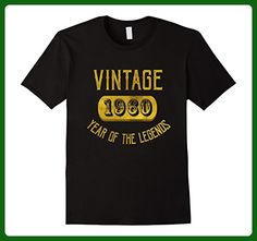 Mens 1960 Legend 57 years old B-day 57th Birthday Gift T-Shirt 3XL Black - Birthday shirts (*Amazon Partner-Link)