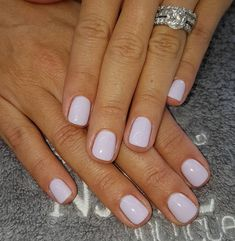 Nail art is a very popular trend these days and every woman you meet seems to have beautiful nails. It used to be that women would just go get a manicure or pedicure to get their nails trimmed and shaped with just a few coats of plain nail polish. Pretty Gel Nails, White Gel Nails, Purple Nail Polish, Pretty Nail Colors, Gorgeous Nails, Cute Nails, My Nails, Gel Nail Polish Colors, Summer Nail Colors