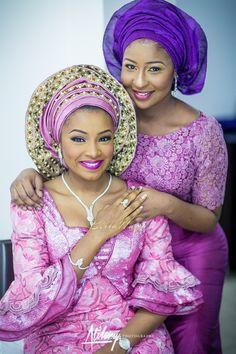 Safiya Meema & Umar Yuguda Wedding   Hausa, Nigerian  Wedding   BellaNaija Weddings   February 201511