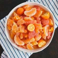 Citrus Salad with Honey & Bitters Dressing