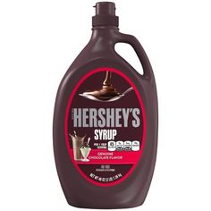 HERSHEY'S Chocolate Syrup is as versatile as it is delicious! Use it as an ice cream topping or blend it with milk and ice cream to create a chocolate-flavored milkshake! Chocolate Syrup Recipes, Best Chocolate Desserts, Chocolate Flavors, Chocolate Hershey, Hersheys, Hot Chocolate, Milk Shakes, State Fair Funnel Cake Recipe, Chocolates