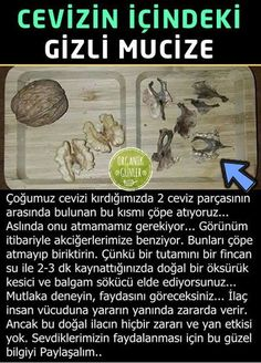 2 pieces of leaf hidden in walnut- Cevizin içinde gizli 2 adet yaprak parçası 2 pieces of leaf hidden in walnut - Health And Beauty, Health And Wellness, Health Tips, Health Care, Health Fitness, Home Remedies, Natural Remedies, Natural Treatments, Alternative Medicine