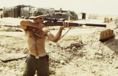 dogatemytank: 1969/1970 US sniper of Company A, 22nd Mechanized Infantry Regiment, 25th Infantry Division, Vietnam