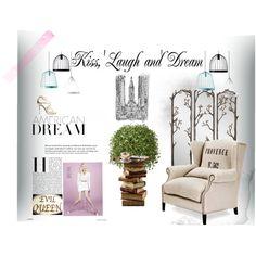 American dream by adelai-da on Polyvore featuring Roger Vivier and fferrone design