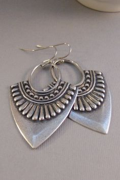 Gypsy TribeEarringSilver earringTribalTribal by ValleyGirlDesigns