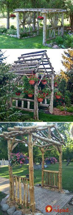 Ak budete na jar čistiť záhradu a pri tejto príležitosti sa vám na záhrade zhromaždia konáre, zadržte, kým ich spálite. Máme pre vás totižto perfektné nápady, ako ich využiť v záhrade. Pozrite sa, aké im našli perfektné využitie!