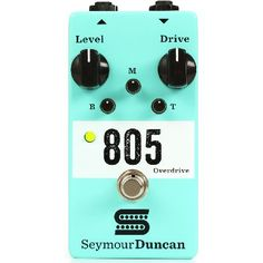 Seymour Duncan 805 Overdrive Pedal The Seymour Duncan 805 Overdrive Guitar Pedal is designed and assembled in Santa Barbara California by the same team responsible for Seymour Duncans legendary pickups. The 805 Overdrive can easily pro http://www.MightGet.com/january-2017-11/seymour-duncan-805-overdrive-pedal.asp