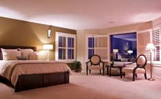 Model bedroom design by Lifestyle Homes | Calgary Home Builder