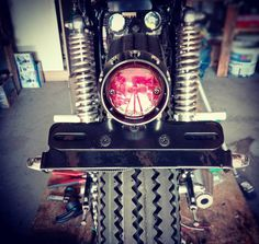 #cj250 #rear_lights #motogadget #honda #cafe_racer #custom #bobber