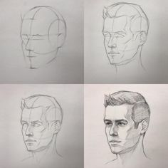 """3,438 Likes, 12 Comments - Cuong Nguyen (@icuong) on Instagram: """"Let's draw a head today! #portrait #art #drawing #stepbystep #artteacher #artteaching"""""""