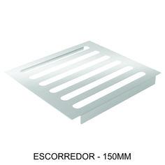 ESCORREDOR - 150mm Ideal para escorrer água de objetos, com copas e taças de famílias menores.