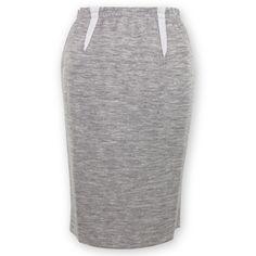 Suzette Elastic Waist Sweatshirt Skirt