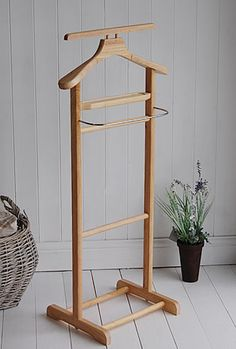 Clothes valet stand from The White Cottage