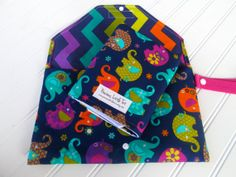 Elephant Diaper Clutch  Diaper Changing Pad  by PreciousLittleTot, $54.99