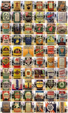 Vintage motor oil cans    http://business-directory.drewrynewsnetwork.com/ethanol-gas-oil/
