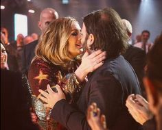 Adele & her partner Simon Konecki...cuties
