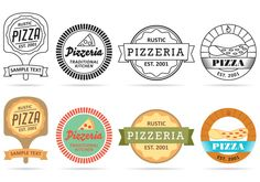 Pizza Logo Vectors