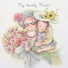 My Lovely Mum , Ladies Who Love Life ... Berni Parker funny cute