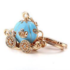 Sweet Cute Keychain Pumpkin Car Women Dream Bag Key Chain