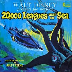Walt Disney presents the story of _20,000 Leagues Under the Sea_