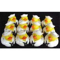 United States NAVY Rubber Duck Party Favors One Dozen (12) NEW FREE SHIPPING