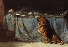 Intercepted by Gravitation | Briton Riviere (British, 1840 - 1920)