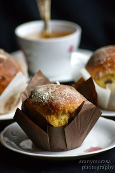 Aranymorzsa French Toast, Muffin, Food And Drink, Pudding, Drinks, Breakfast, Cake, Blog, Drinking