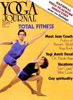 Relive 80s Yoga With These Awkward 'Runner's World' Magazine Covers