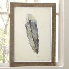 Birds of a Feather Framed Print II