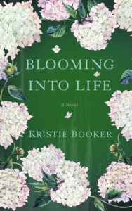 Blooming into Life  by Kristie Booker   ~~~~~~~~~~~~~  GENRE: Women's Fiction  ~~~~~~~~~~~~~  BLURB:  Growing up on a farm in Brockville, Illinois, did not prepare Colleen O'Brien Adler to be the wife of a wealthy entertainment lawyer living in Chicago. It certainly didn't prepare her to be Dinah Adler's daughter-in-law.   #AuthorInterview #Contemporary #Excerpt #giveaway #Women'sFiction