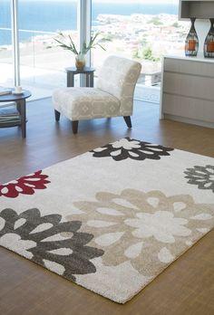 Picasso Rug (6324/060) - floral design rug
