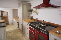 The Old Mill House | Traditional Country Shaker Style Kitchen.