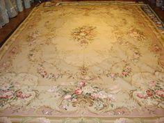 Wool Needlepoint Rug, Stark Carpets