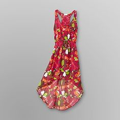 Dream Out Loud by Selena Gomez  Junior's High-Low Dress Floral New Pink