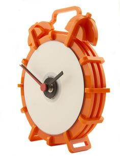 NOSTALGIC TIMES   Laser cut acrylic clock. H180 W150 D35.